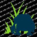 ガマゲロゲの影(シルエット)