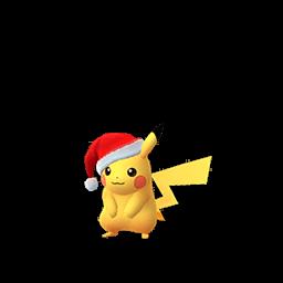 クリスマスサンタ帽子ピカチュウ