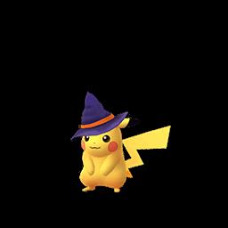 ハロウィン帽子ピカチュウ