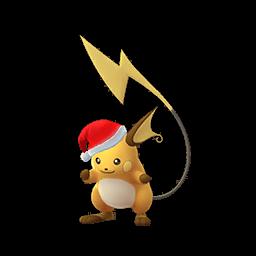 クリスマスサンタ帽子ライチュウ