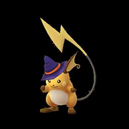 ハロウィン帽子ライチュウ