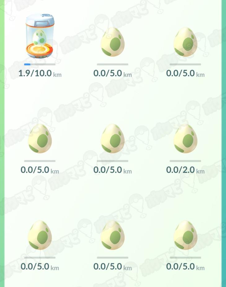 ポケモンGOの10kmタマゴ孵化!