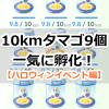 【ポケモンGO】10kmタマゴを9個同時孵化!64個のポケモンのアメをハロウィンイベント中にゲットしました!