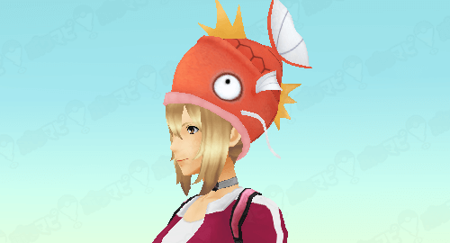 ポケモンGOコイキング帽子