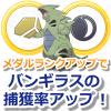 【ポケモンGO】バンギラスの捕獲率アップ!いわメダル「やまおとこ」のランクアップを狙おう
