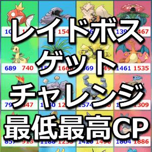 ゲットチャレンジ最高最低CP