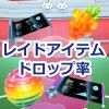 【ポケモンGO】レイドバトルでもらえるアイテムのドロップ率!ボスポケモンのレベルによって変動