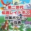 【ポケモンGO】レイドバトル(第二世代伝説ボスポケモン)対策ポケモンをまとめたよ!