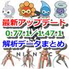 【ポケモンGO】最新アップデート(0.77.1/1.47.1)解析データまとめ!デオキシスとポワルンのフォルム追加