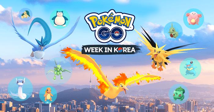 PokémonGO Week