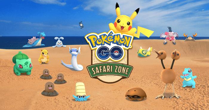 ポケモンGO鳥取砂丘イベント「Pokémon GO Safari Zone in 鳥取砂丘」