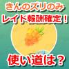 【ポケモンGO】金ズリがレイド報酬確定!どう使うのが良いか考えてみたよ!
