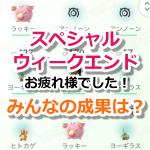 【ポケモンGO】スペシャル・ウィークエンドはどうだった?みんなの成果&感想