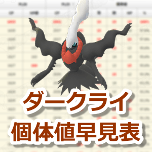 ポケモン go ダークライ 交換