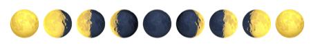 月の絵文字